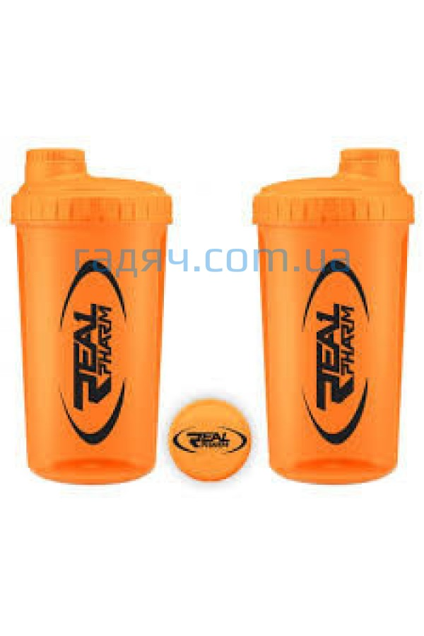 Шейкер  Real Pharm Shaker 700 ml  (neon orange)