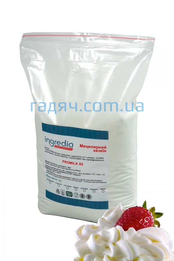 Мицеллярный казеин Ingredia 85% (крем-сливки)